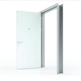 钢质平开门