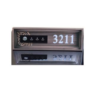 铝合金CNC 定制门牌17-4-14