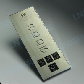 酒店宾馆金属数码边框电子门牌