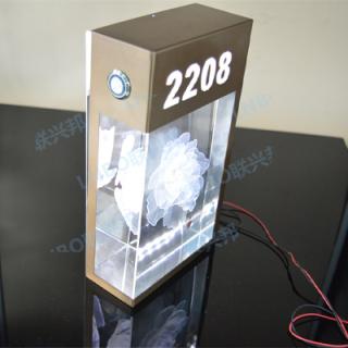 3D水晶门牌